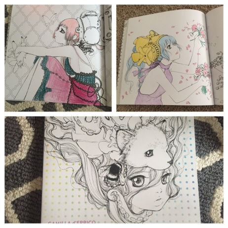 Pop Manga Coloring Book by Camilla D\'Errico – Sunshine Eyes